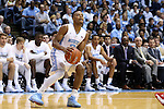 15 November 2015: North Carolina's Nate Britt. The University of North Carolina Tar Heels hosted the Fairfield University Stags at the Dean E. Smith Center in Chapel Hill, North Carolina in a 2015-16 NCAA Division I Men's Basketball game. UNC won the game 92-65.