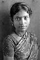 A young woman in her saree