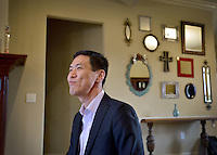 NWA Democrat-Gazette/BEN GOFF -- 04/02/15 Randy Walker, founder/CEO of Harvest Data Corp, talks about his life and business at his Cave Springs home on Thursday, Apr. 2, 2015.