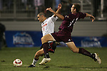1 November 2006: Maryland's Graham Zusi (11) and Boston College's Sam Brill (right). Maryland defeated Boston College 1-0 in double overtime at the Maryland Soccerplex in Germantown, Maryland in an Atlantic Coast Conference college soccer tournament quarterfinal game.
