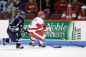 Bryden Teich (Toronto - 8), David Warsofsky (BU - 5) - The Boston University Terriers defeated the visiting University of Toronto Varsity Blues 9-3 on Saturday, October 2, 2010, at Agganis Arena in Boston, MA.