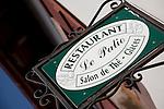 The Patio Restaurant, St Jean Pied de Port, Basque Country, Pyrenees-Atlantiques, Aquitaine, France
