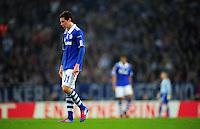 FUSSBALL   EUROPA LEAGUE   SAISON 2011/2012  ACHTELFINALE FC Schalke 04 - Twente Enschede                         15.03.2012 Julian Draxler (FC Schalke 04)  enttaeuscht