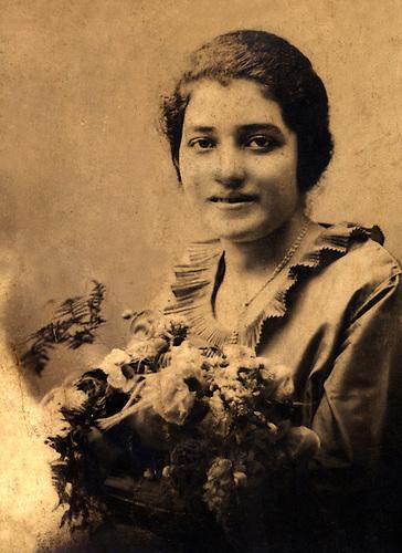 Delia Weber,  1919.