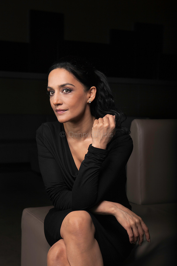 Archie Panjabi, known for her role on The Good Wife, is now on NBC's Blindspot. Photographed at NBC.