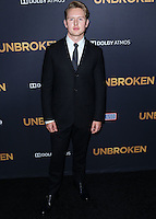 HOLLYWOOD, LOS ANGELES, CA, USA - DECEMBER 15: Ross Anderson arrives at the Los Angeles Premiere Of Universal Pictures' 'Unbroken' held at the Dolby Theatre on December 15, 2014 in Hollywood, Los Angeles, California, United States. (Photo by Xavier Collin/Celebrity Monitor)