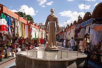 El Parian handicrafts market in the city of Puebla, Mexico