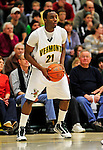 13 December 2009: University of Vermont Catamounts' guard Garvey Young, a Sophomore from Washington, DC, in action against the Quinnipiac University Bobcats at Patrick Gymnasium in Burlington, Vermont. The Catamounts defeated the visiting Bobcats 80-77 to mark the Cats' season home opener with a win. Mandatory Credit: Ed Wolfstein Photo