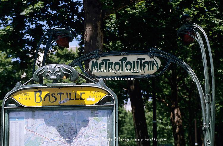 bastille paris station