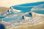 Photo &amp; Image  of Pamukkale Travetine Terrace, Turkey. Picture of the white Calcium carbonate rock formations. Buy as stock photos or as photo art prints. 4