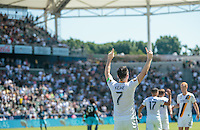Carson, CA - September 25, 2016: The Seattle Sounders FC defeat the Los Angeles Galaxy 4-2 in a Major League Soccer (MLS) match at StubHub Center.