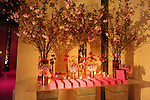 Bar Mitzvah decor, gala ballroom, at LIFE in Westchester, New York.<br /> Decor by XQuisite Designs.