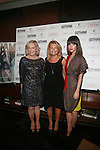 Glenn Close, Debra Halpert and Rose Byrne Attend Rose Byrne and Glenn Close host Gotham magazine cover party at Asellina, presented by Cosmopolitan Las Vegas with Pisco Porton, NY  9/20/11