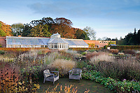 The Perennial Meadow showing the Conservatory