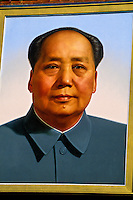 Portrait of Charman Mao, Tiananmen Gate (Gate of Heavenly Peace), Beijing, China