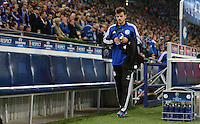 FUSSBALL   CHAMPIONS LEAGUE   SAISON 2012/2013   GRUPPENPHASE   FC Schalke 04 - Montpellier HSC                                   03.10.2012 Tranquillo Barnetta (FC Schalke 04) auf dem Weg zur Ersatzbank