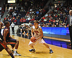 "Ole Miss' Cade Peeper (5) vs. Auburn at the C.M. ""Tad"" Smith Coliseum on Saturday, February 23, 2013. Mississippi won 88-55. (AP Photo/Oxford Eagle, Bruce Newman)"