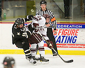 Jack Barnes (Army - 19), Nathan Sinz (Colgate - 24), Chip McDonald - The host Colgate University Raiders defeated the Army Black Knights 3-1 in the first Cape Cod Classic on Saturday, October 9, 2010, at the Hyannis Youth and Community Center in Hyannis, MA.