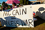 Protest Against US Sen. John McCain
