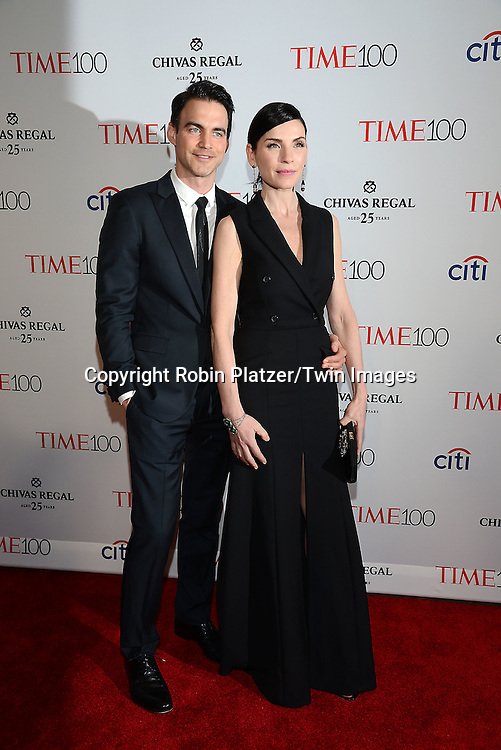 Julianna  Margulies and husband Keith Lieberthal attend the TIME 100 Issue celebrating the 100 Most Influential People in the World on April 21, 2015 <br /> at Frederick P Rose Hall at Lincoln Center in New York City, New York, USA.<br /> <br /> photo by Robin Platzer/Twin Images<br />  <br /> phone number 212-935-0770