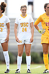 06 September 2015: USC's Hailey Hite. The University of North Carolina Tar Heels played the University of Southern California Trojans at Koskinen Stadium in Durham, NC in a 2015 NCAA Division I Women's Soccer match. UNC won the game 2-1.