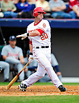 9 March 2010: Washington Nationals' infielder Adam Kennedy in action during a Spring Training game against the Detroit Tigers at Space Coast Stadium in Viera, Florida. The Tigers defeated the Nationals 9-4 in Grapefruit League action. Mandatory Credit: Ed Wolfstein Photo