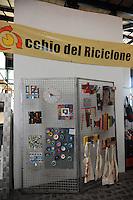 Festa Nazionale dell' Altra Economia. Roma. National Day for other economy. Rome..L'occhio del riciclone...