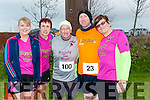 participants who took part in the Kerry's Eye Valentines Weekend 10 mile road race on Sunday were Ready to Run  Eileen Brennan, Ann O'Leary, George Glover, Mike Brosnan, Joan Glover