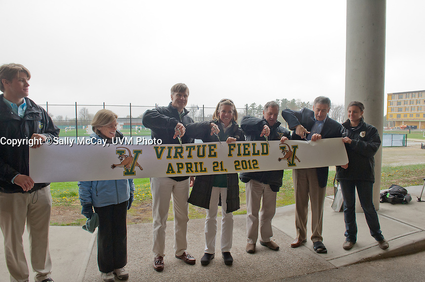 UVM Virtue Field Dedication Ceremony