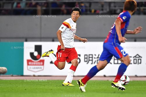 Kensuke Nagai (Grampus), MAY 23, 2015 - Football / Soccer : 2015 J1 League 1st stage match between F.C.Tokyo 0-1 Nagoya Grampus at Ajinomoto Stadium in Tokyo, Japan. (Photo by AFLO)