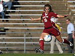 Texas A&M's Amy Berend on Saturday, November 25th, 2006 at Fetzer Field in Chapel Hill, North Carolina. The University of North Carolina Tarheels defeated the Texas A&M Aggies 3-2 in an NCAA Division I Women's Soccer Championship quarterfinal game.