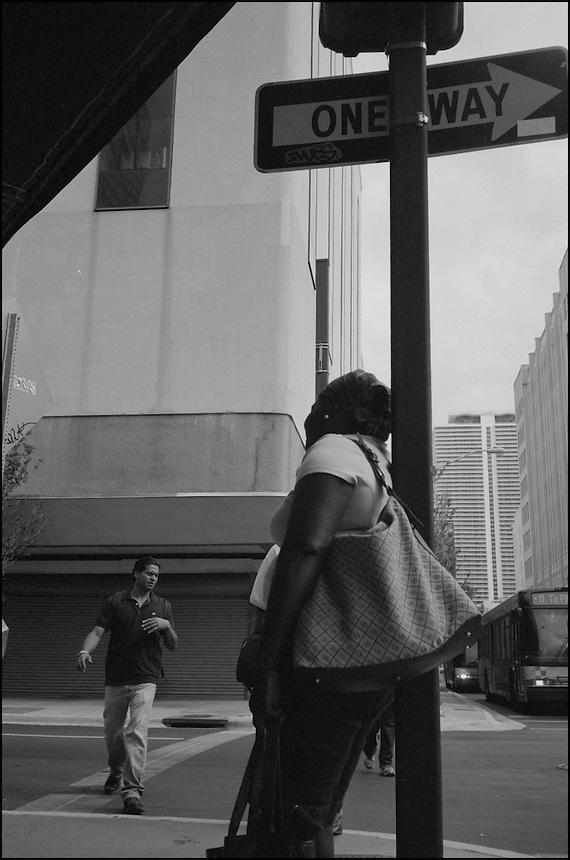 The Crossing<br /> From &quot;Walking Downtown&quot; series. Miami, 2009