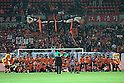 Omiya Ardija team group, DECEMBER 3, 2011 - Football / Soccer : Omiya Ardija players pose with fans after the 2011 J.League Division 1 match between Omiya Ardija 3-1 Ventforet Kofu at NACK5 Stadium Omiya in Saitama, Japan. (Photo by Hiroyuki Sato/AFLO)