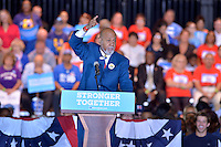 COCONUT CREEK, FL - OCTOBER 25: US Representative Alcee Hastings (D-Fla.) speaks at a rally with Democratic presidential nominee former Secretary of State Hillary Clinton to highlight the start of in-person early voting at Omni Auditorium, Broward College North Campus on October 25, 2016 in Coconut Creek, Florida. With two weeks to go until Election Day, Clinton will urge Florida voters to take advantage of in-person early voting, which begins in many Florida counties.  Credit: MPI10 / MediaPunch