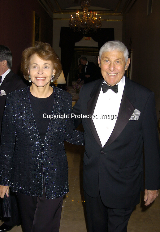 Marilyn Berger and Don Hewitt ..at the New York Landmarks Conserancy LIving Landmarks ..Celebration 2004 at The Plaza Hotel on November 3, 2004. ..Photo by Robin Platzer, Twin Images