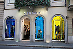 Versace Shop in Monte Napoleone Street in Milan, Italy