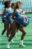 Toronto Argonauts Cheerleaders 1984. Photo F. Scott Grant
