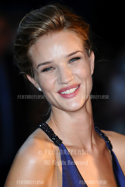 """Rosie Huntington-Whiteley arrives for the""""Transformers 3: Dark of the Moon 3D"""" screening at the IMAX Cinema, South Bank, London. 26/06/2011  Picture by: Steve Vas / Featureflash"""
