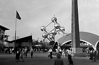 """the """"Expo 58"""" World Exhibition in Brussels (Belgium, 1958)"""
