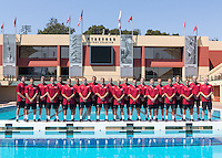 Stanford Water Polo M Portraits and Team Photo, September 7, 2016