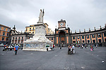 Piazza Dante is a large public square in Naples, Italy, named for the poet Dante Alighieri. The square is dominated by a 19th-century statue of the poet, sculpted by Tito Angelini.