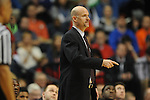 Ole Miss head coach Andy Kennedy vs. Florida in the SEC championship game at Bridgestone Arena in Nashville, Tenn. on Sunday, March 17, 2013.