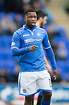 St Johnstone v Inverness Caledonian Thistle....22.02.14    SPFL<br /> Nigel Hasselbaink<br /> Picture by Graeme Hart.<br /> Copyright Perthshire Picture Agency<br /> Tel: 01738 623350  Mobile: 07990 594431