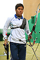 Hideki Kikuchi (JPN), .April 22, 2012 - Archery : .Archery Japan National Team Selection match for The World Cup Ogden 2012 .at JISS Archery Field, Tokyo, Japan. .(Photo by Daiju Kitamura/AFLO SPORT) [1045]