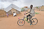 Daily life in the Dereig Camp for internally displaced persons, one of many such settlements for people displaced by the violence in Darfur.