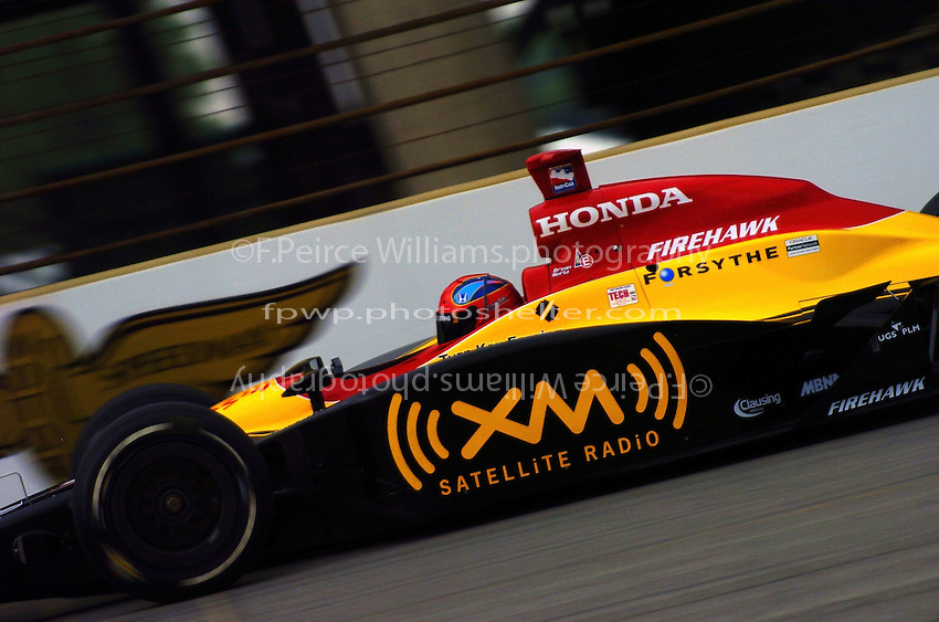 9-27 May,2004 Indianapolis Motor Speedway, Indiana, USA.Bryan Herta..............
