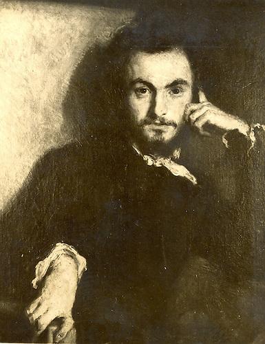 Charles   Baudelaire, par  Emile Deroy.  Photographie no. 2.158. Pages de France.
