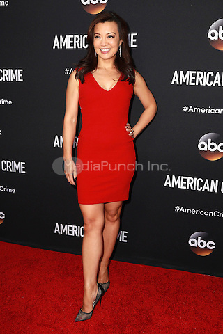 LOS ANGELES, CA - FEBRUARY 28: Ming-Na Wen at the American Crime Premiere at the Ace Hotel in Los Angeles, California on February 28, 2015. Credit: David Edwards/DailyCeleb/MediaPunch