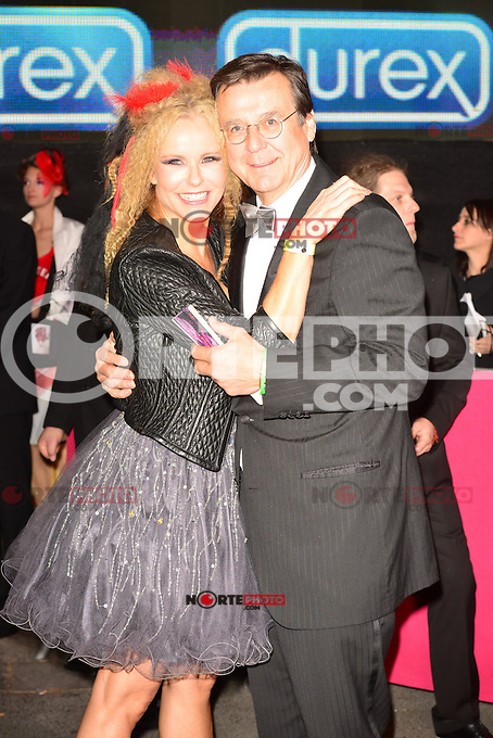 "Katja Burkard and husband Hans Mahr attending the ""20th Life Ball"" AIDS Charity Gala 2012 held at the Vienna City Hall. Vienna, Austria, 19th May 2012..Credit: face to face /MediaPunch Inc. ***FOR USA ONLY**"