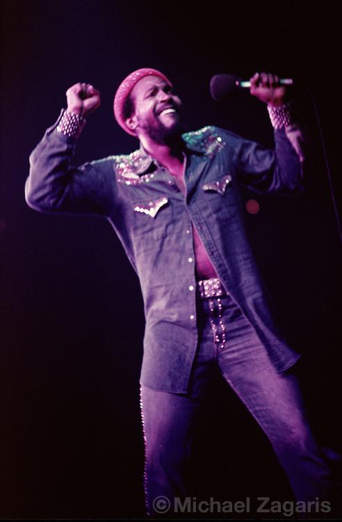Marvin Gaye, Oakland, 1971